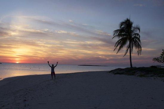 Paradise Cove Beach Resort: Sunset