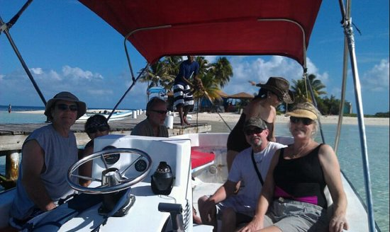 Belize Master Tours: a day of fun @ Goffs caye