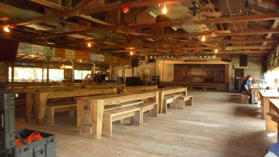 Gruene Hall: inside during the day