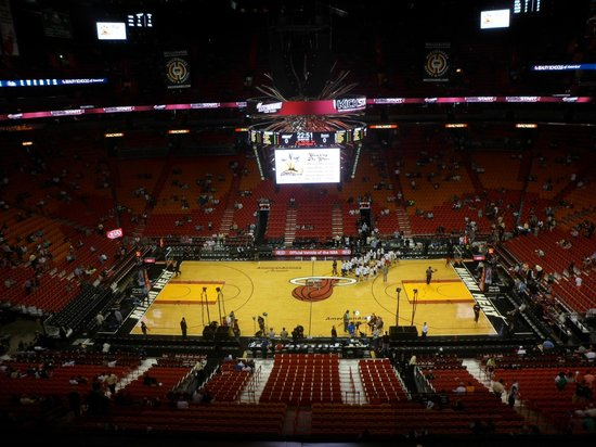 American Airlines Arena : Estadio por dentro