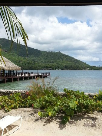 Hotel Kaveka : Vue du bungalow