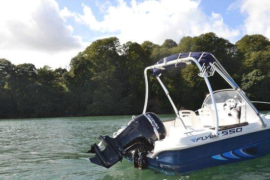 Falmouth Boat Hire: Small boat