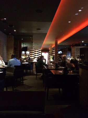 Fire & Oak - Montvale: View from the back of the restaurant.