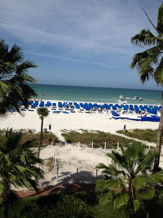TradeWinds Island Grand Resort : Our veiw from the room