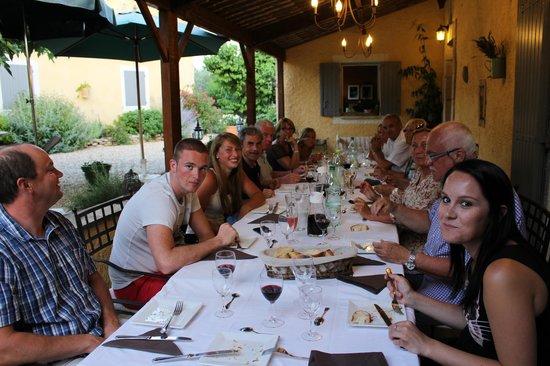 Le Mas Destonge : tables d'hôtes!!!!