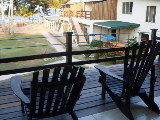 Pelican Beach - Dangriga: Balcony