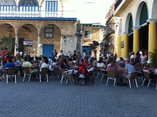 Place Vieille (Plaza Vieja) : El Museo de la Cerveza a casa llena!!! Abr 2014