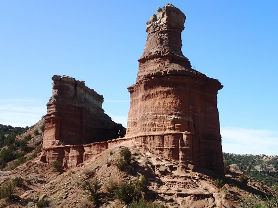 Palo Duro Canyon State Park : Lighthouse Rock