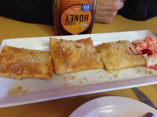 Papi Taco: Sopapillas with brown sugar and honey