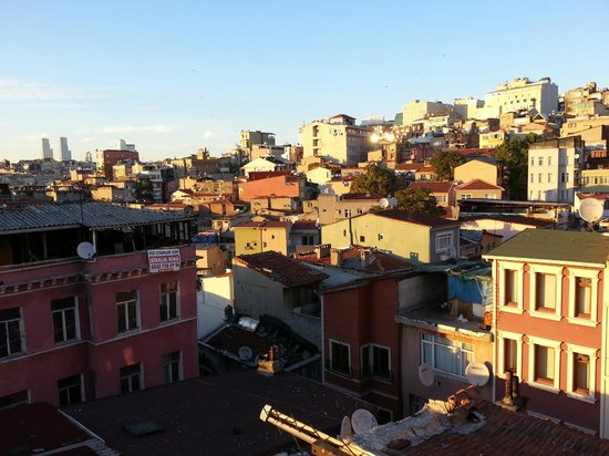 Taksim Istanbul Apart: From window top floor window