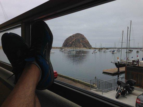 Estero Inn: view from balcony