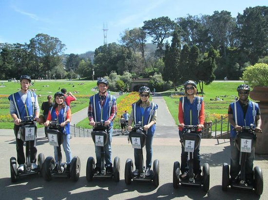 Electric Tour Company Segway Tours: Golden Gate Park Segway