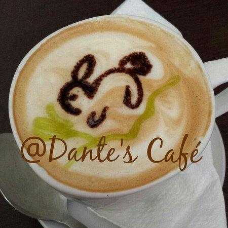 Dante's Cafe : Latte art