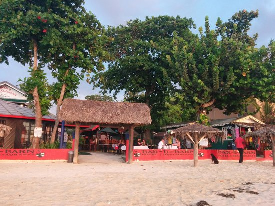 Bar-B-Barn : View from the beach II
