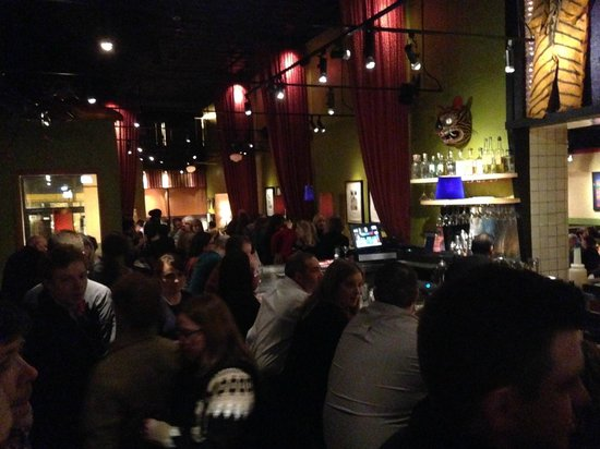 Frontera Grill: The bustling bar @ Frontera