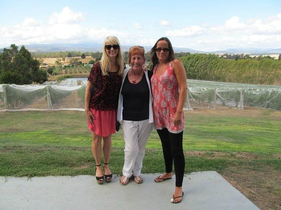 Valleybrook Wine on Wheels Tours: Marcia (Centre) of Valleybrook Wine Tours