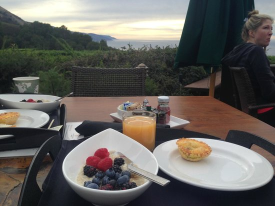 Ventana Inn & Spa: View from breakfast