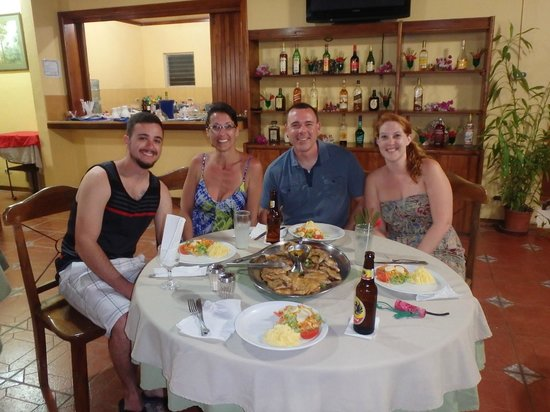 Ecoplaya Beach Resort: The restaurant cooked the fish we caught.  Best tuna ever!