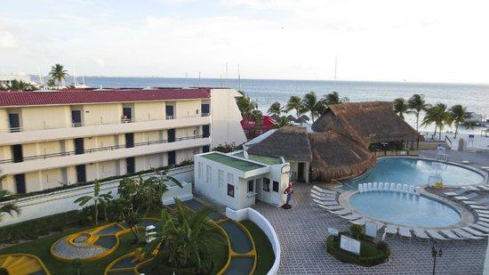 Aquamarina Beach Hotel: Vue du 4ème étage