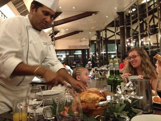 Club Med Bali: Thanksgiving dinner