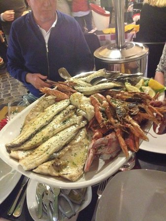 Al Presidente : the 'second appetiser' apparently. They charged 250 euros!! I bet the fish was going off more li