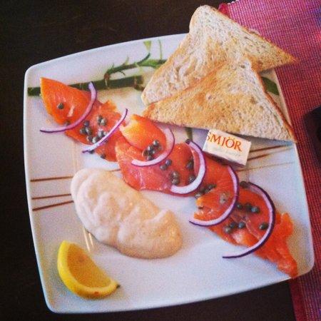 Alafoss Cafe : Smoked salmon