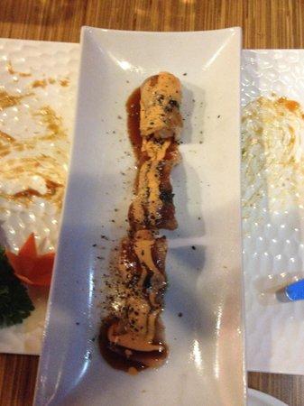 Kikaku Sushi Bar: Chef's surprise treat!