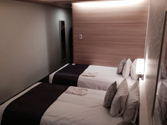 Hotel Elsereine Osaka : Twin beds