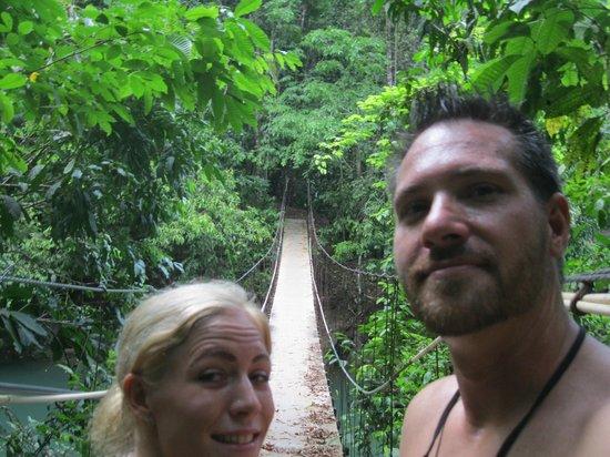 Drake Bay Wilderness Resort: Awesome Rope Bridge