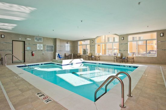 Indoor Swimming Pool Picture Of Holiday Inn Express Hotel Suites Denver East Peoria Street