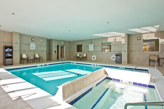 Indoor Heated Pool And Hot Tub Picture Of Holiday Inn Express