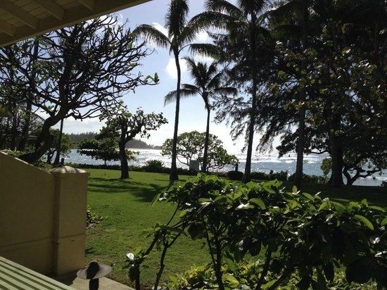 Turtle Bay Resort: View from cottage lanai