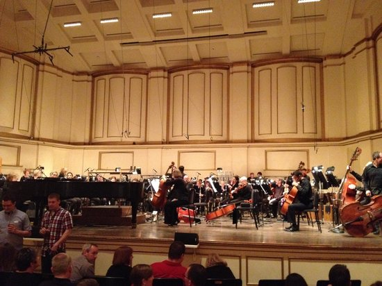 Powell Symphony Hall : Powell Hall stage