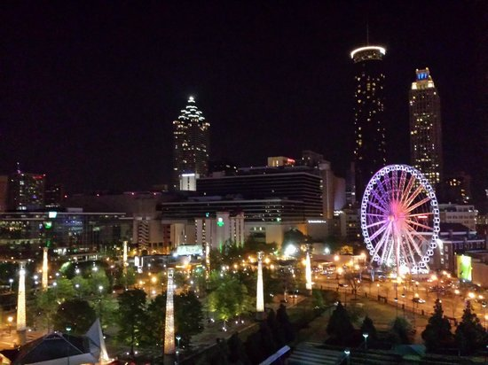 Omni Atlanta Hotel at CNN Center : View from Room