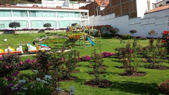 Cariongo Plaza Hotel: Parque infantil.