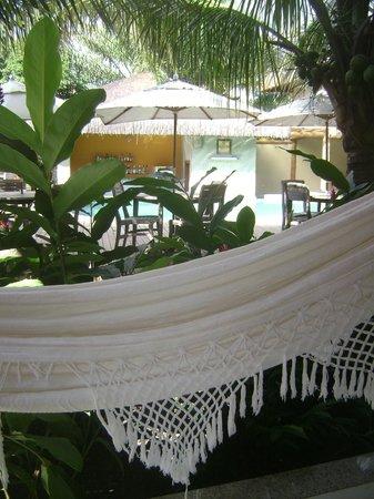 Terra Boa Hotel Boutique: Pool Bar (Vista do Apartamento)