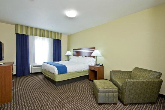 Holiday Inn Express Hotel & Suites Denver East-Peoria Street: King Suite
