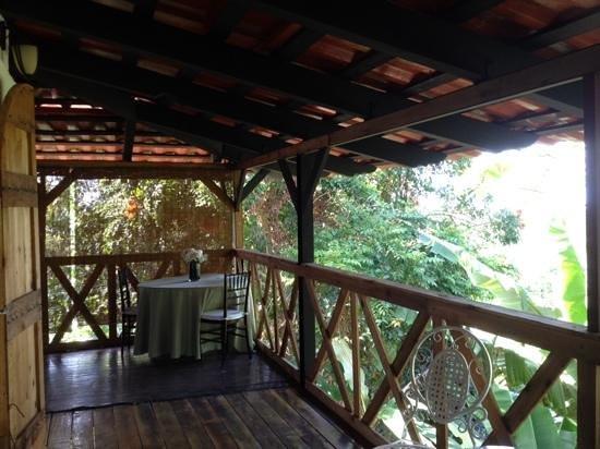Hacienda Siesta Alegre: Tree House room porch