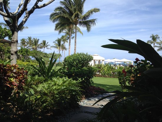Four Seasons Resort Hualalai: The view from my window