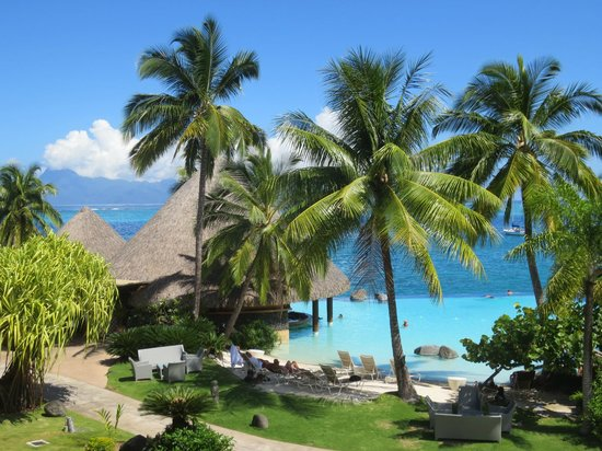 InterContinental Tahiti Resort & Spa : View from the room