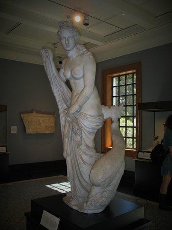 The Getty Villa: one of many Getty Villa sculpture's