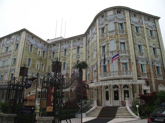 Lido: Hotel Ungaria Ausonia, na Grande Avenida Santa Maria Elisabetta