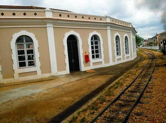 Steam train to Sao Joao del Rei: parada