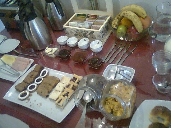 Hosteria Antu Kuyen: desayuno