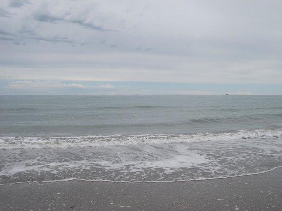 Mar Adrático visto da Praia do Lido