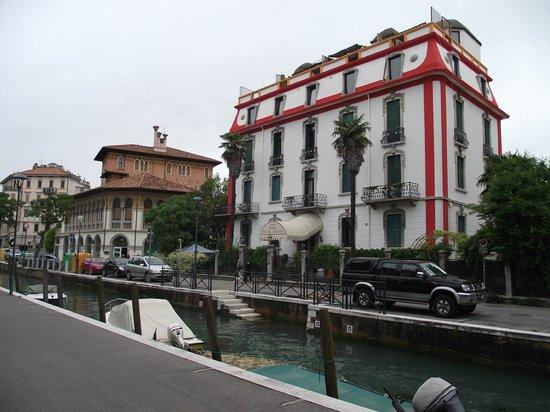 Lido: Hotel Atlanta Augustus às margens de um canal na via Lepanto