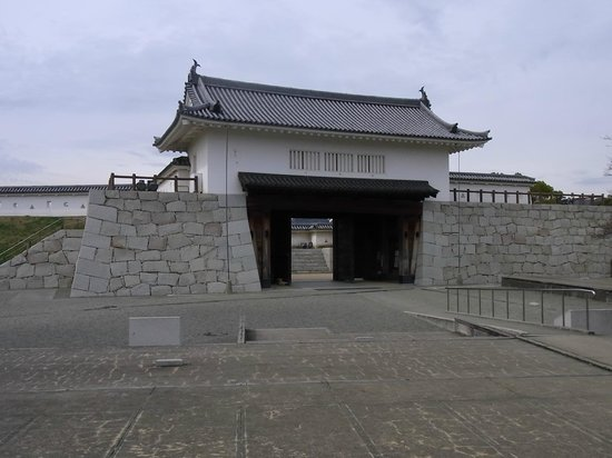 Remains of Ako Castle: 4. 本丸櫓門
