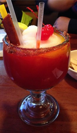 Chamoy Margarita Was Really Good Picture Of Nicha S