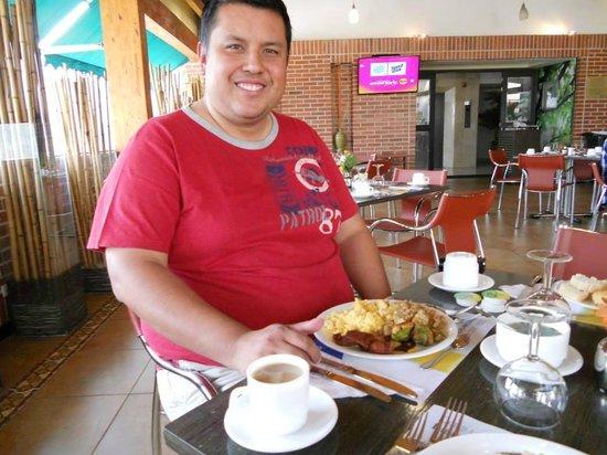 GHL Style Hotel San Diego : Desayuno tipo buffet... es real no es mentira