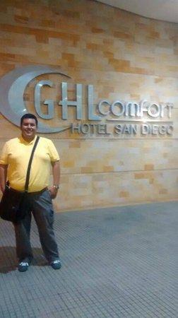 GHL Style Hotel San Diego: Fachada